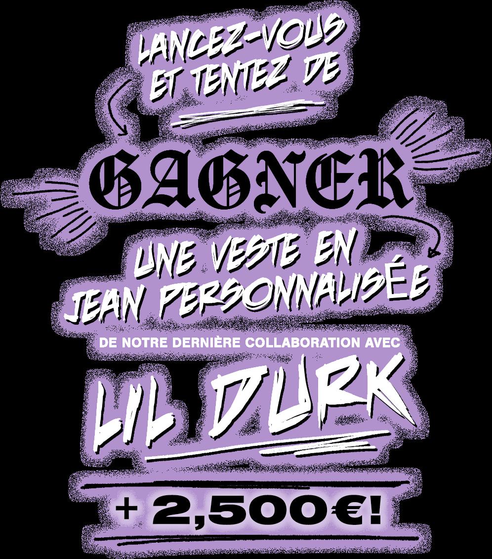 BoohooMAN | Lancez-vous et tentez de gagner une veste en jean personnalisée de notre dernière collaboration avec Lil Durk + 2,500€ !