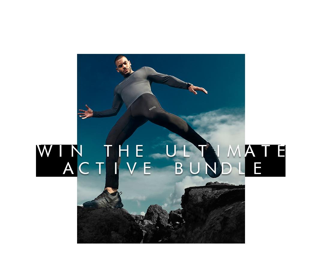 Win our active bundle & £1,000 cash!